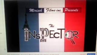 The Pink Panther Show: The Inspector Napoleon Blown Aparte Intro