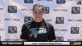2022 Paris Dellamaggiore Catcher and Third Base Softball Skills Video - Ca Suncats