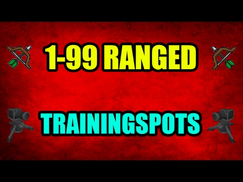 Video 1-99 Range Guide 07 Training Spots With Cannon Profit Only OSRS 2007