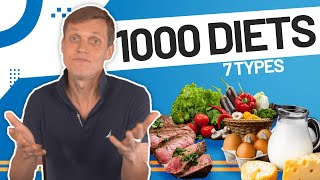 Overview of 1,000 Modern Diets and 7 Diet Categories - Diets & Nutrition, Part 2/6