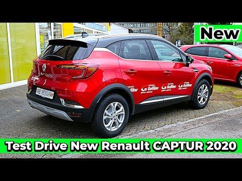 Test Drive POV New Renault CAPTUR 2020