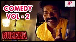 Gurkha Movie   Full Comedy Scene   Part 2   Yogi Babu   Elyssa   Ravi Mariya   Devadarshini