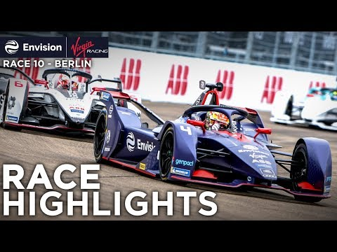 Formula E Berlin E-Prix Race Highlights! (Envision Virgin Racing)