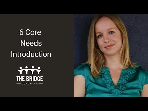 6 core needs for anyone in transition – introduction