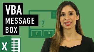 How to use the Message Box in Excel VBA (syntax you'll need for msgbox)