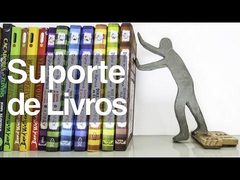 Suporte para livros