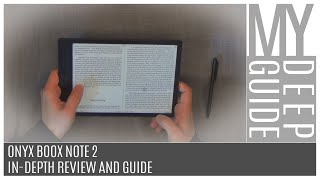 Onyx Boox Note 2 - In-Depth Review and Guide