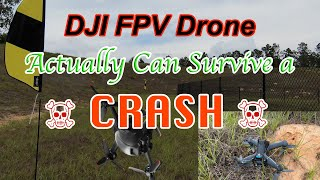 The DJI FPV Drone Actually can take a PUNCH!