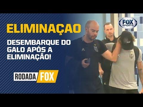 DESEMBARQUE DO GALO APÓS A ELIMINAÇÃO!