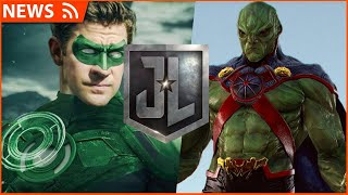 Green Lantern & Martian Manhunter to appear in Snyder Cut of Justice League