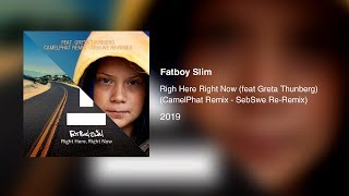 Fatboy Slim   Right Here Right Now (feat Greta Thunberg) (SebSwe CamelPhat Radio Edit) (Video)