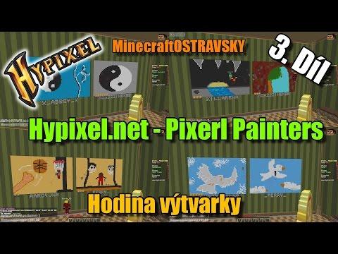 #3 | Hodina výtvarky - Hypixel.net | Luxusní kresby z ČR | MinecraftOSTRAVSKY | [FULLHD]