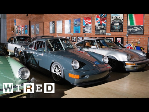 Take a 360-Video Tour of a Magnus Walker's Sweet Porsches | WIRED