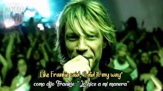 """Video thumbnail of """"Bon Jovi - It's my life(Sub Español + Lyrics)"""""""