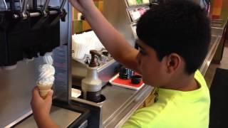 June 15 2014 - Jasons deli - ice cream attack