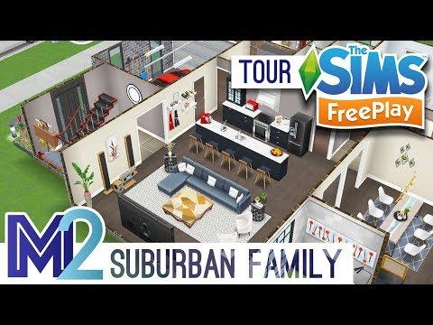 Sims FreePlay - Suburban Family House (Original Design)