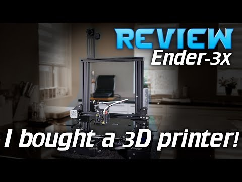 I bought a 3D printer (Ender 3 review)