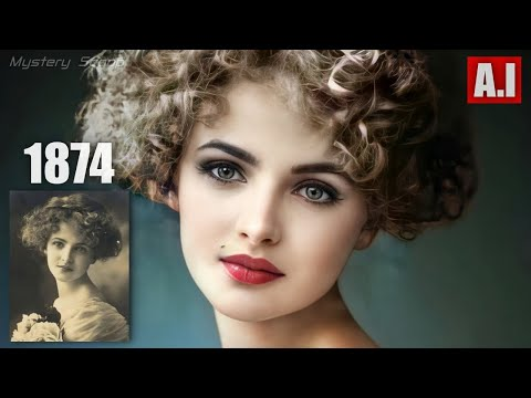 Beauties Of The Past Brought To Life V5 (AI Animated)