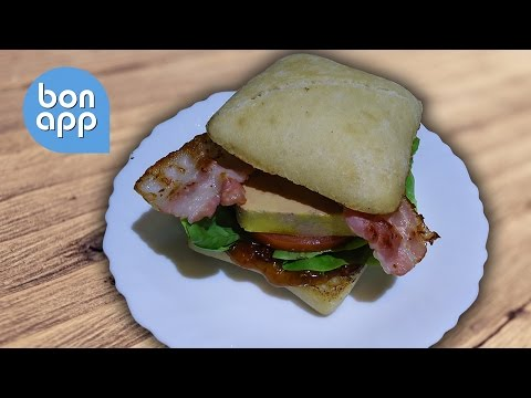 Гамбургер с фуа гра (hamburger foie gras) - Оригинальные рецепты