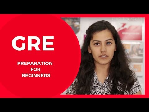 GRE Preparation for Beginners | How to prepare for GRE Verbal & Quant.