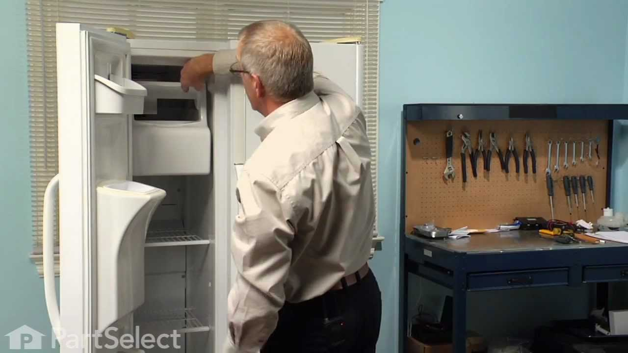 Replacing your Frigidaire Refrigerator Ice Container and Auger Assembly