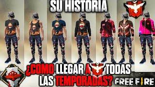 ASÍ LLEGUÉ A HEROICO EN TODAS LA TEMPORADAS (EVOLUCIÓN DE LA CLASIFICATORIA) •FREE FIRE•