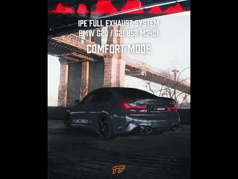 Soundtrack of BMW G20/21 B58 M340i w/ FULL iPE Exhaust