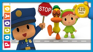 🚦 POCOYO AND NINA - Road safety rules [120 minutes] | ANIMATED CARTOON for Children | FULL episodes