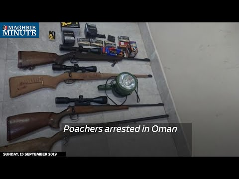Poachers arrested in Oman