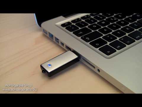 USB Stick Aufnahmegerät  - Anwendungsbeispiel