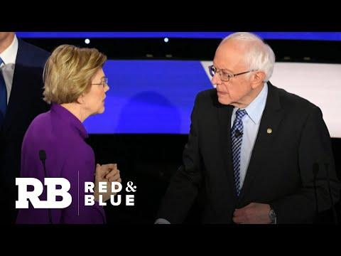 Tense moment between Sanders and Warren reignites dialogue over role of gender in 2020 race