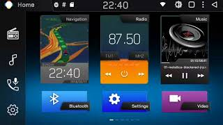 Download PX5-MTCD Music player skinned and Customizable Left Bar
