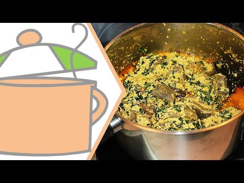 How to Cook Nigerian Egusi Soup (Caking Method) | All Nigerian Recipes