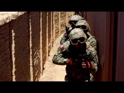 U.S. Marines Train with Mexican and Chilean Military Forces
