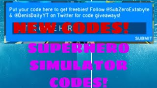 all superhero simulator release codes 2019 - TH-Clip