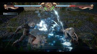 SOUL CALIBUR VI  - Kayane (Geralt) VS Keysona (Groh) - E3 Build
