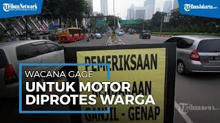 Wacana Pemberlakuan Ganjil Genap untuk Motor Diprotes Warga: Transportasi Umum Belum Memadai