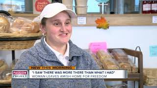 Wisconsin woman leaves Amish community for freedom