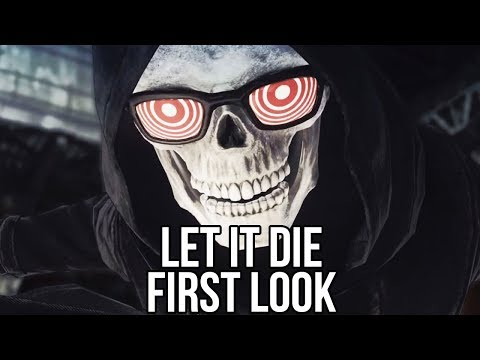 Let It Die: A Bloody Brilliant Brawl Inside the Tower of Hell? (Free Action Game)