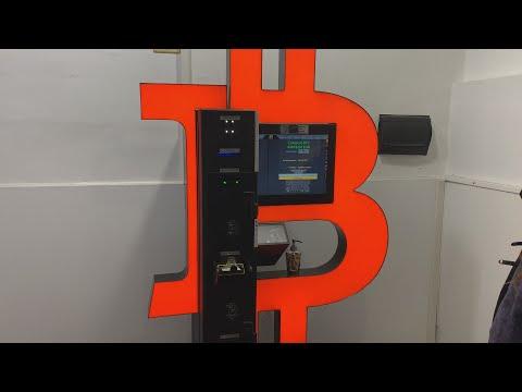 Bitcoin mygtukas