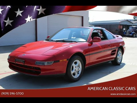 1991 Toyota MR2 (CC-1337241) for sale in La Verne, California