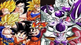 Download All Goku VS Frieza All Forms | Dragon Ball Z