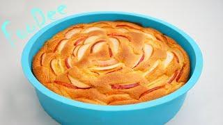 Шарлотка с Яблоками 🍏 САМЫЙ Вкусный и Простой Рецепт 🍏 Яблочный Пирог