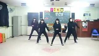 DBSK/TVXQ - Purple Line Dance Steps by the B.Girls