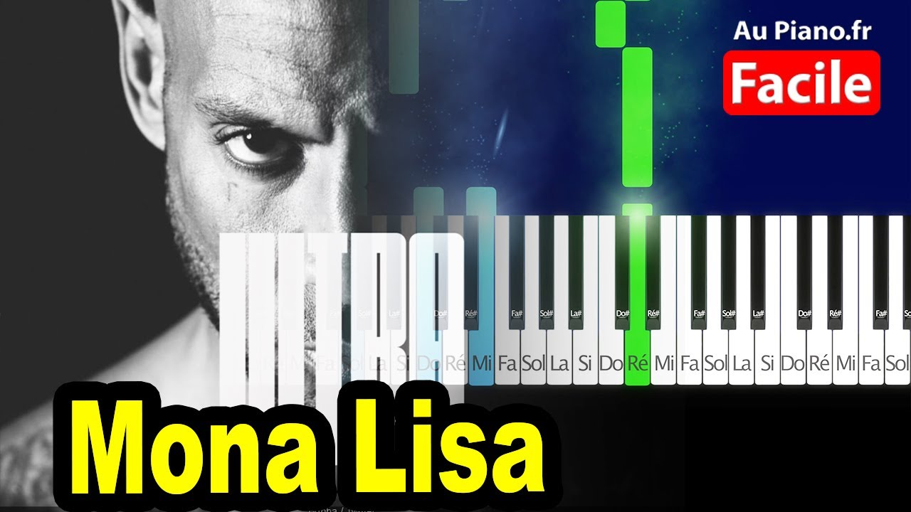 Booba - Mona Lisa Feat. JSX Ultra - Piano COVER Tutorial