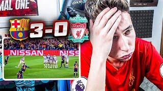 REACCIONES DE UN HINCHA Barcelona Vs Liverpool 3-0 *MESSI ES DIOS*