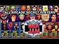 Nba Jam series All Arcade Secret Characters