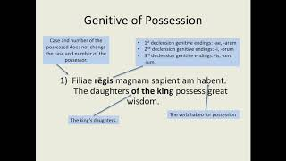Latin for Beginners Lesson 13: Marking Possession in Latin