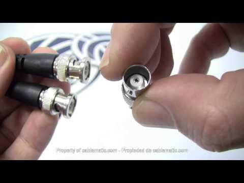 Aislante de tierra para vídeo - video ground loop isolator BNC GL001 distribuido por CABLEMATIC ®
