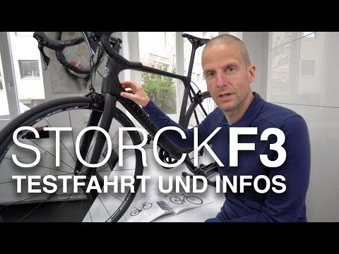 Storck F3 Facenario Platinum Rennrad getestet! Schnell, leicht & komfortabel.